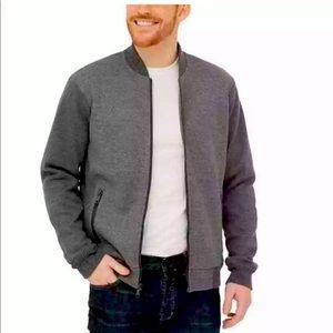 Boston Traders bomber fleece jacket L & S